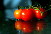 Arie Arik Chen Framed Prints - Sherry Tomatoes Framed Print by Arie Arik Chen