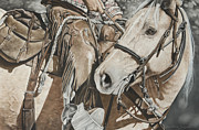 Riding Pastels - Shes a Workin Girl by Joni Beinborn