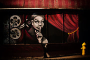 Urban Art Photos - Shhhhh by Karol  Livote