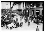 Philadelphia Phillies Stadium Photo Posters - Shibe Park 1914 Poster by Bill Cannon