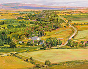 Montana Landscape Prints - Shields River Montana Print by Steve Spencer