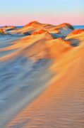 Dan Carmichael Framed Prints - Shifting Sands - a Tranquil Moments Landscape Framed Print by Dan Carmichael