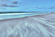 Storm Prints Photo Prints - Shifting Sands on Frisco Beach Outer Banks I Print by Dan Carmichael