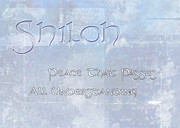 Aged Paintings - Shiloh - Peace that Passes Understanding. by Christopher Gaston