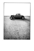 Hot Rod Car Prints - Shine - Metal And Speed Print by Holly Martin