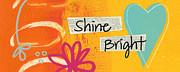 Shine Bright Print by Linda Woods