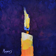 Moyers Paintings - Shine by Mike Moyers