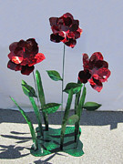 Flower Sculptures - Shine Your Light On Me by Diane Snider