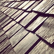 Abstract Photos - Shingles by Christy Beckwith