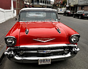 Nancy  de Flon - Shiny Red Chevrolet