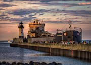 Lake Superior Photos - Ship Ahoy by Mary Amerman