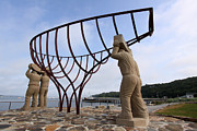 Bob Savage - Ship Builders Sculpture...