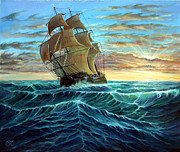 Motivational Painting Originals - Ship by Osi