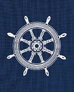 Jaime Friedman - Ship Wheel Nautical Print