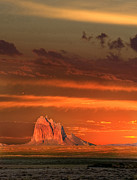 Kg Prints - Shiprock Print by Kennith  Gordon