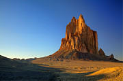 Dine Prints - Shiprock Sunset Print by Alan Vance Ley