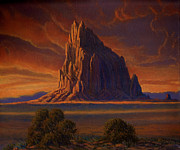Randy Follis - Shiprock Sunset