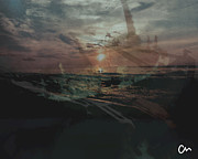 Valuable Originals - Shipwreck Sunset by Coman Alex