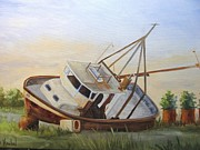 Signed Originals - Shipwrecked Ike II by Barbara Haviland