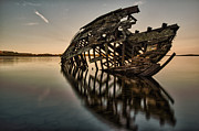 Hulk Framed Prints - Shipwrecks Skeleton Framed Print by Jakub Sisak