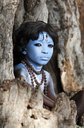 Hinduism Photos - Shiva Boy by Tim Gainey
