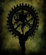 Mystical Digital Art Prints - Shiva Print by Cinema Photography