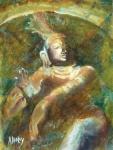 Shiva Creator Destroyer Print by Ann Radley