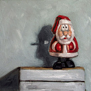 Santa Claus Originals - Shocked Santa by Ulrike Miesen-Schuermann