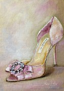 Original  By Artist Photos - Shoe Lover. Wedding Shoe by Nina R Aide