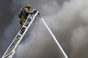 Shooting Down Print by Dan Holm