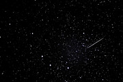 Star Field Posters - Shooting Star and Big Dipper Poster by Thomas R Fletcher
