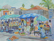 Patty Weeks - Shopping In Haiti