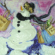 Paris Wyatt Llanso - Shopping Snow Girl