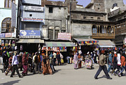Ashish Agarwal - Shops and crowded street...
