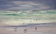 Julianne Felton - Shoreline Birds III