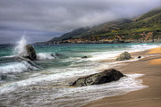 Big Sur Beach Framed Prints - Shores of Big Sur Framed Print by Shawn Everhart