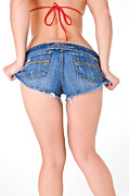 Slim Photo Prints - Short Shorts Print by JT PhotoDesign