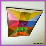 Cabbalism Framed Prints - Shot Shift - Salut 1 Framed Print by Michael Bellon
