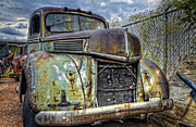 Rusty Pickup Truck Photos - Should of Had a V8 by Ken Smith