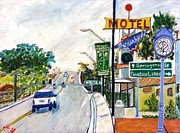 Lds Painting Originals - Show Low Arizona  by Leslie Byrne