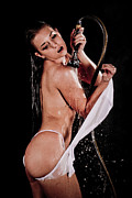 Nude Fashion Girl Woman Naked Nude Photos - Shower by JT PhotoDesign