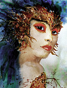 Travel Photography Painting Prints - Showgirl Print by Steven Ponsford