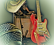 Fender Strat Posters - Shows Over HDR Poster by Robert Frederick