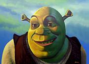 Shrek Print by Paul  Meijering