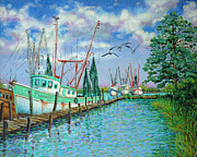 Dwain Ray - Shrimp Boats Up the...