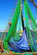 Trawler Metal Prints - Shrimp Season Metal Print by Dick Botkin