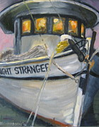 Stranger Paintings - Shrimping Tonight by Susan Richardson
