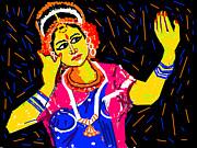 Shringara Rasa Print by Anand Swaroop Manchiraju
