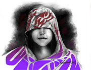 Shroud Digital Art - Shrouded Child by Mark Gallegos