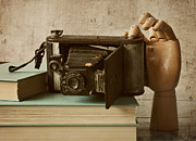 Antique Books Prints - Shutterbug Print by Amy Weiss